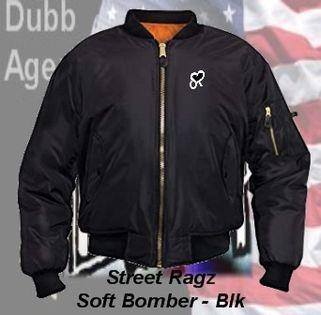 Street Ragz SR Black Soft Nylon Bomber. Cost: US$110. Free Shipping!