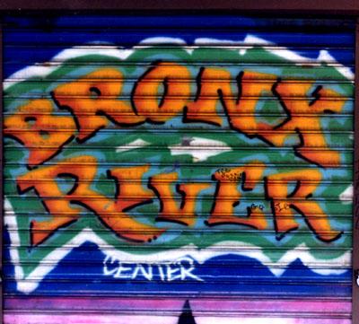 Bronx River Center Gate. D.I.A.