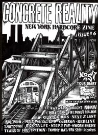 Concrete Reality Zine -- NYC