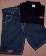 Street Ragz Jeans Short and Polo/Golf Shirt