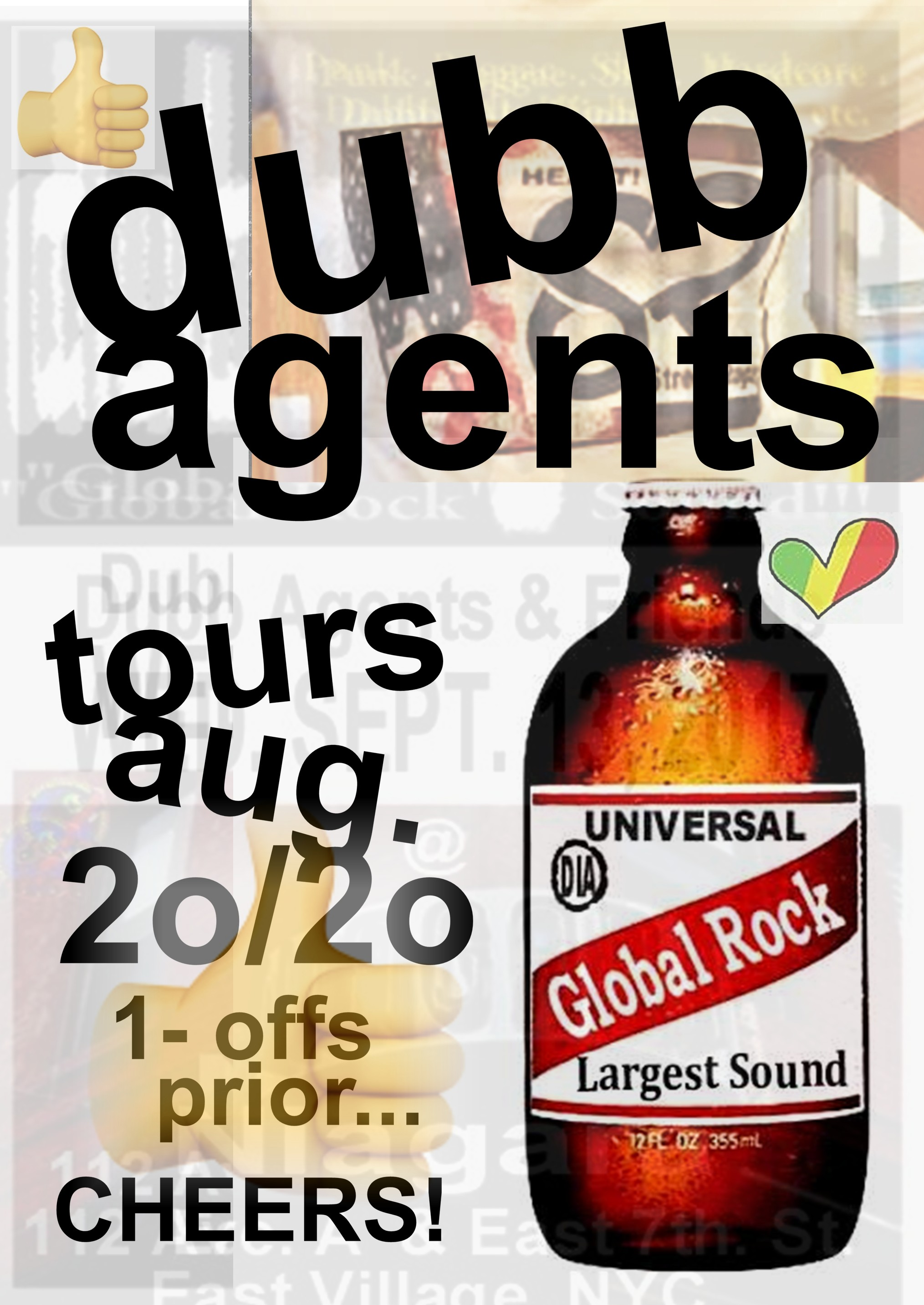 Dubb Agents  2020 Ubiquitous tour. D.I.A Production.