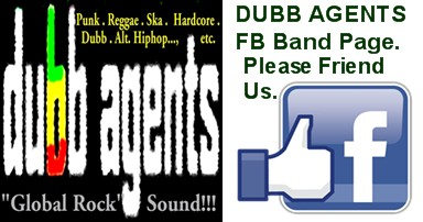 Dubb Agents Facebook band page.