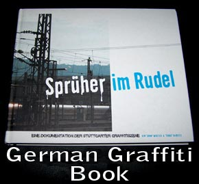 SPRUHER IM RUDEL German hardback Graffiti Book.