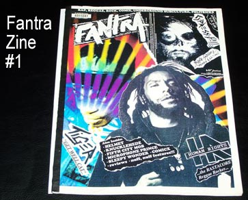 Fantra Zine #1 Publication
