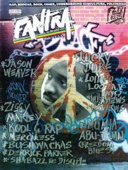 Fantra Zine IV cover