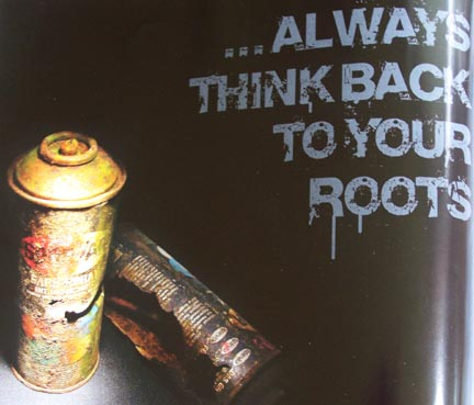'Always Think Back To Your Roots.' True Indeed!