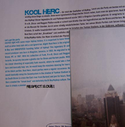 Respect Due To The Founding Father Of Hiphop KOOL HERC. Lots of God-fathers. Only ONE Founding Father -- KOOL HERC.