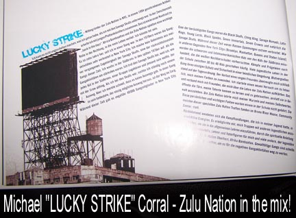 Lucky Strike Of Zulu Nation In Da House.