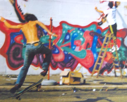 Skate & Spray. Rebel Against The Ills Of Society.