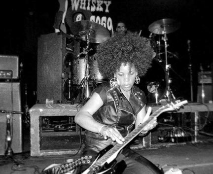 Ghetto Songbird shredding at Whiskey A GoGo in Los Angeles - Cali.