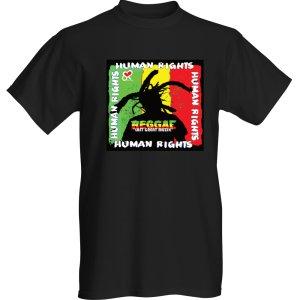 Street Ragz (SR) Men's Black Human Rights