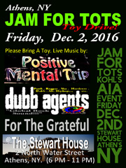 Dubb Agents play Jam For Tots toy drive December 2, 2016.