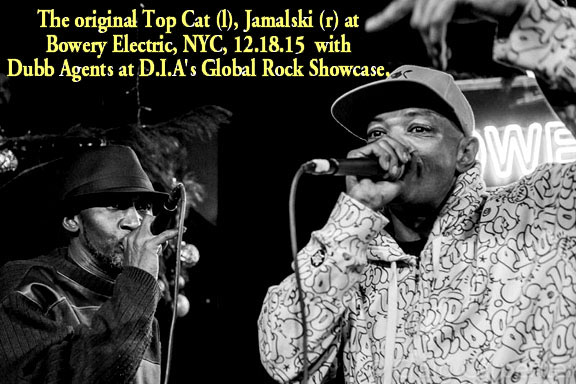 Jamalski and original Top Cat performing at Bowery Electric, 12.18.15 at D.I.A's Global Rock Showcase.width=