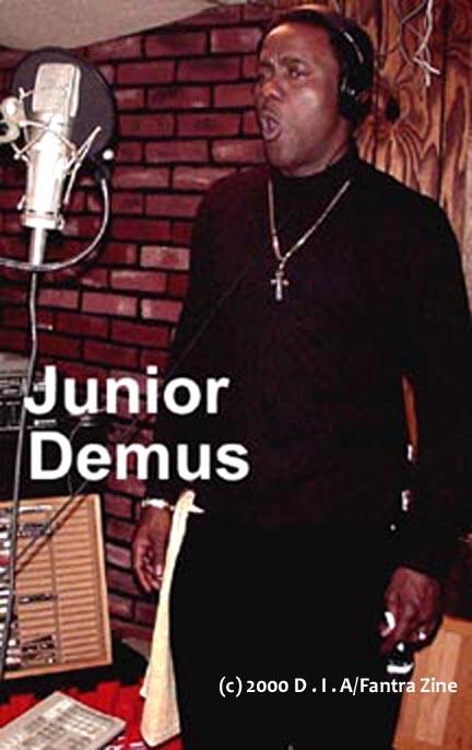 Junior Demus of DIA Fantra Zine