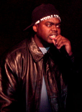 Li-On spittin' at Speed Nite Club November 15, 2000, in Mid-town Manhattan, NYC.