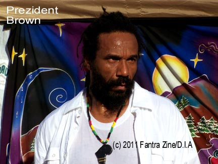 Prezident Brown -- reggae roots conscious international reggae star.