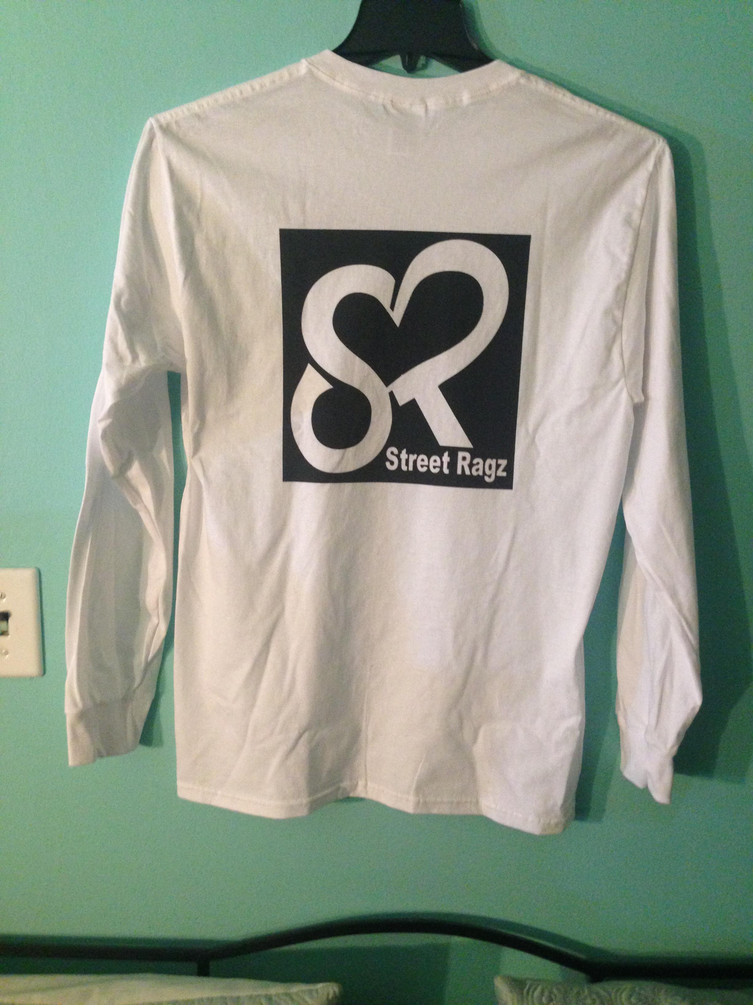 Street Ragz (SR) longsleeves Tee-shirt black logo