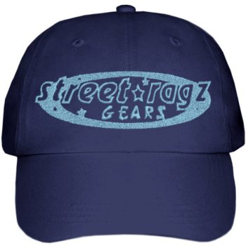 Street Ragz Blue Logo Blue Cap. FREE SHIPPING.