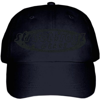 Street Ragz D.I.A STEALTH Logo Black Cap. FREE SHIPPING.