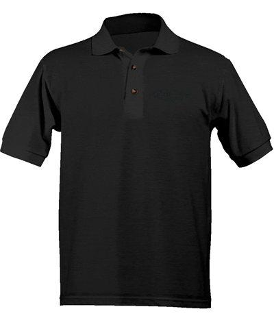 Street Ragz D.I.A STEALTH Logo Black Polo Shirt. FREE SHIPPING.