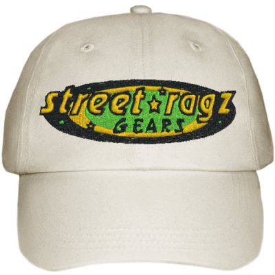 Street Ragz 'Deep Roots Jamaica Edition' Light Khaki Cap.