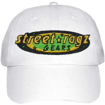 Street Ragz 'Deep Roots Jamaica Edition' White Cap.