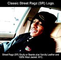 Street Ragz Black and White Logo Black Shirt And Cap. James.