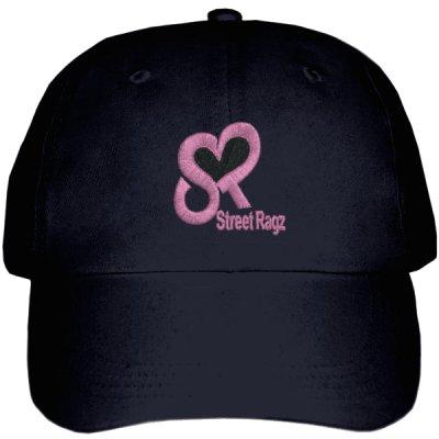 Street Ragz Pink Logo Black Cap. FREE SHIPPING.
