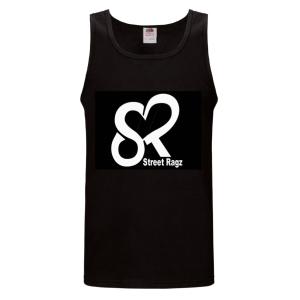 Street Ragz Heart Logo Black Tank Top. Free shipping.