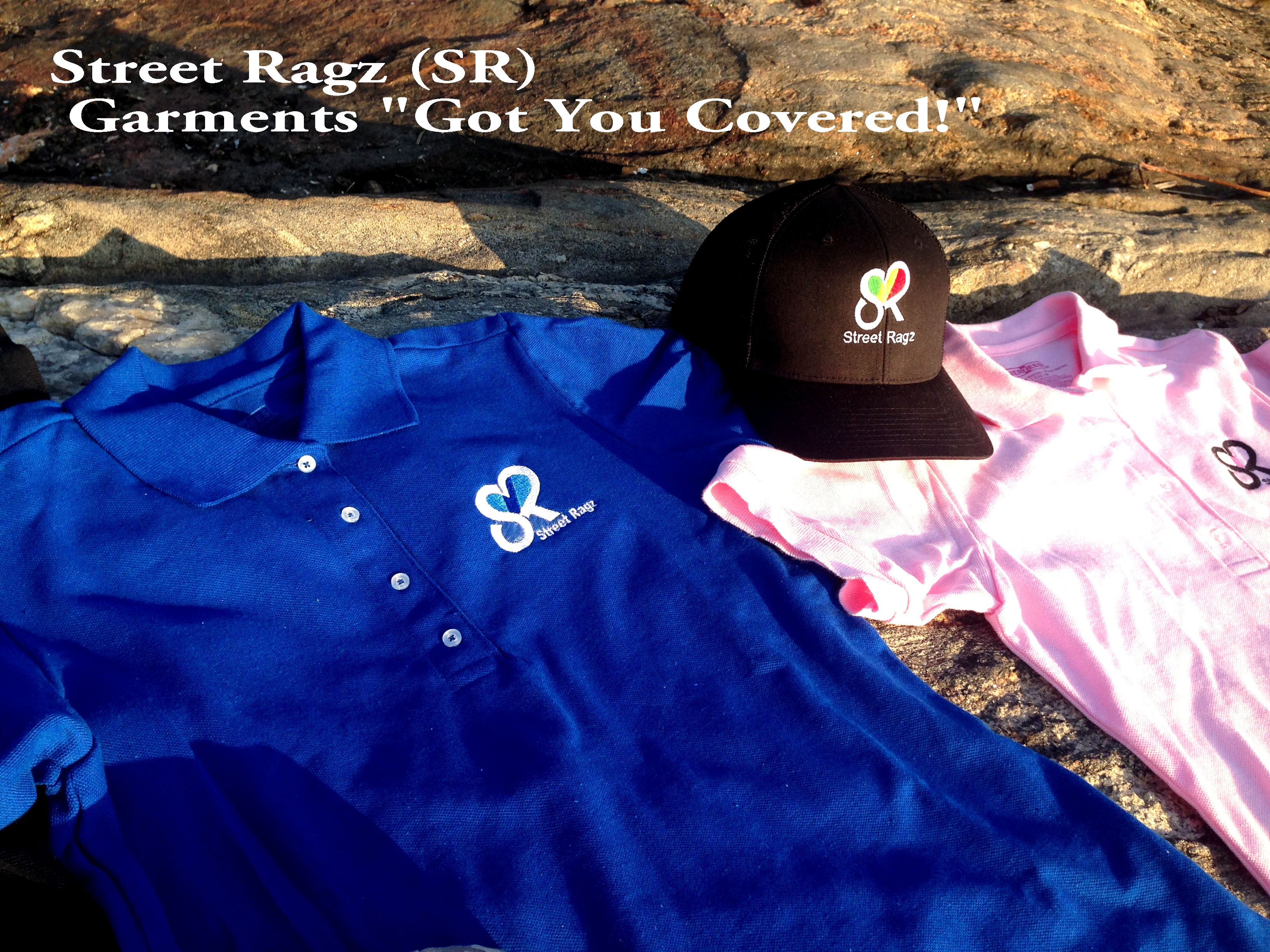 Street Ragz (SR) clothing.
