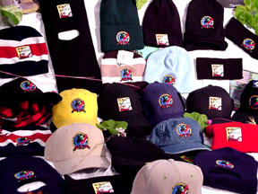 Street Ragz-D.I.A Multi-colored Hats. Comes With Street Ragz and D.I.A Logos.