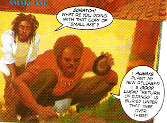 Bob Marley Graphic Novel Trilogy: 'Tales Of The Tuff Gong. LION -- excerpt 2.
