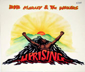Tennyson Jimmy Smith's original illustration of Bob Marly's 'Uprising' album