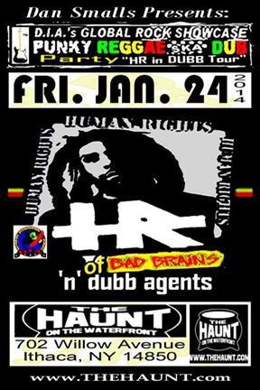 The Haunt, Ithaca, NY January 24, 2014. DIA's Global Rock Showcase (GRS)