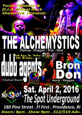 Dubb Agent at The Spot Underground in Providence - RI 4.2.16