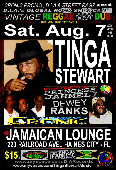 Tinga Stewart - Global Rock Showcase Haines City Florida - USA Aug. 2010.