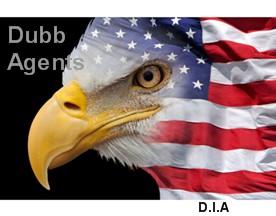 USA Flag Eagle Dubb Agents D.I.A